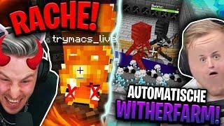 RACHE an TRYMACS & OP Wither FARM! SKYFACTORY 3 mit Trymacs!