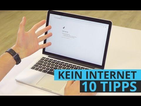 Kein Internet? Anleitung