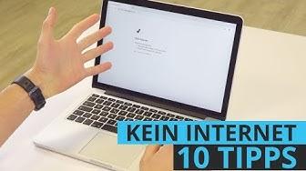Kein Internet? Anleitung mit 10 Tipps - Probleme mit der Internetverbindung lösen