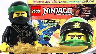 LEGO Ninjago Lloyd with Magazine review - finally in America!