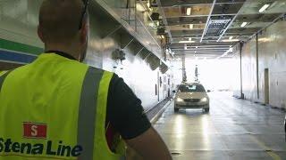 Stena Line - Mit dem Auto an Bord der Fähre