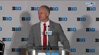 Maryland Coach DJ Durkin | 2018 Big Ten Football Media Days