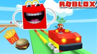 Download *NEW* 🍟ESCAPE MCDONALDS OBBY!! | The Weird Side of Roblox Mp3 and Videos