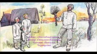 """Стих: """"Наглядный урок"""".  Автор: Светлана Кокорева.  Читает Наталия Черноусова."""