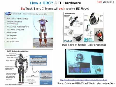 The What, Why, How, Who and When of the DRC (DARPA Robotics Challenge)