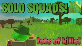 SOLO SQUADS ON ISLAND ROYALE! (ROBLOX)