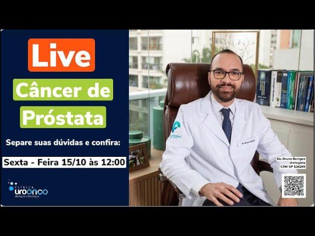 Urologista responde perguntas sobre prevenção, diagnóstico de tratamento do câncer de próstata