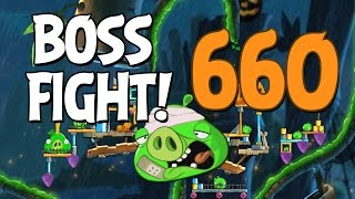 Angry Birds 2 Boss Fight 90! King Pig Level 660 Walkthrough - iOS, Android