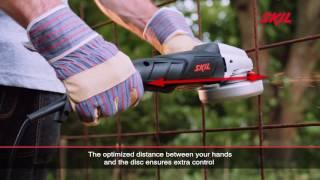Угловые шлифовальные машины с тонкой задней рукояткой имеют несколько преимуществ