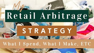 My Retail Arbitrage Strategy - How Much I SPEND, How I PRICE, & Reselling on Poshmark