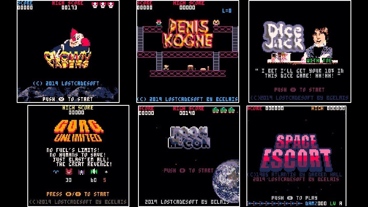 Pico-8 Lostcadesoft's games by Bgelais