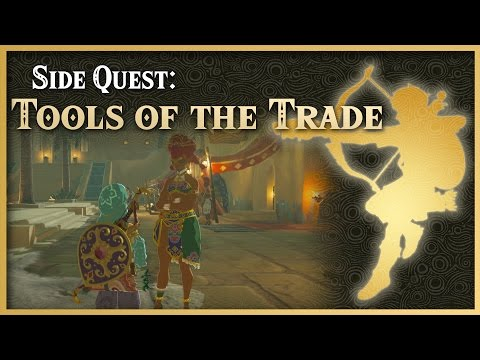 Zelda Breath of the Wild • Tools of the Trade • Wasteland Side Quest