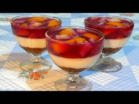 Десерт #БЛАНМАНЖЕ Нежный и очень Вкусный #Рецепт