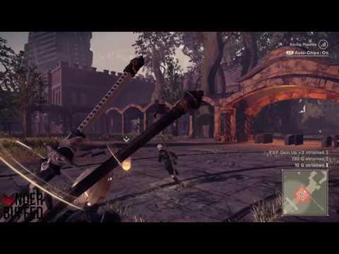 Nier Automata Game Dev Machine Lv 1 Quest Guide Youtube