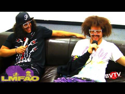 "LMFAO Interview Backstage at The Black Eyed Peas World Tour - BVTV ""Band of the Week"" HD"
