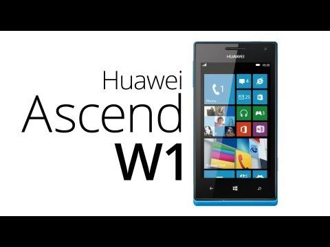 Huawei Ascend W1: první pohled