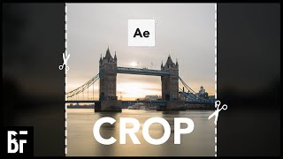 How to Crop Viḋeos in After Effects