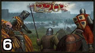 Fighting The Invaders!  - Total War: 1220 Mod Gameplay #6