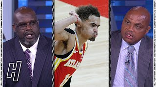 Inside the NBA Reacts to Hawks EPIC 4th Qtr COMEBACK vs 76ers in Game 5 | 2021 NBA Playoffs