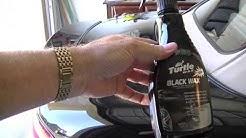 TURTLE WAX BLACK WAX - VERY IMPRESSIVE