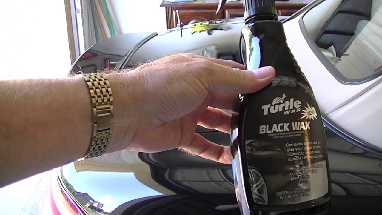 turtle wax black wax very impressive youtube. Black Bedroom Furniture Sets. Home Design Ideas