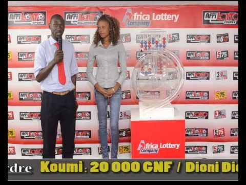 Tirage Loto Africa Lottery Company du 24 06 2014