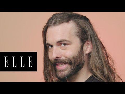 Queer Eye's Jonathan Van Ness Gets Game of Thrones Braids | ELLE