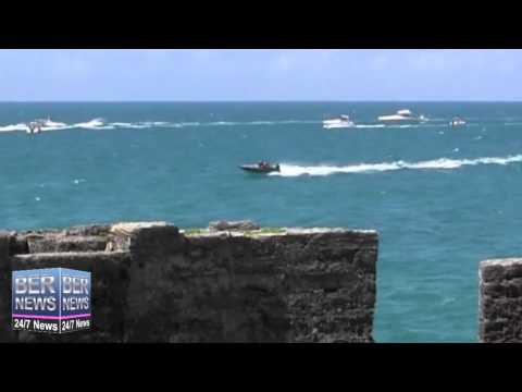 Around The Island Powerboat Race Finish, August 17 2014