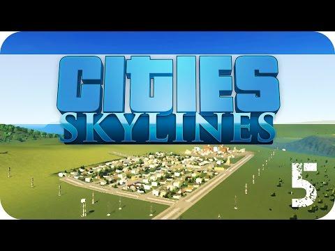 Cities: Skylines - E5 - Transport Infrastructure