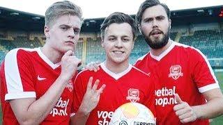 Robbie, Matthy & Royston scoren er op los, Bas pakt historisch geel (Creators FC - Warchild)