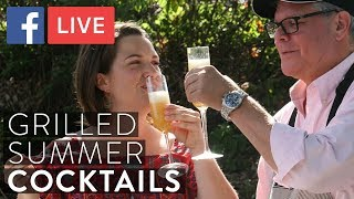 Grilled Peach Cocktails You'll Want All Summer Long   FB LIVE With Urban Accents Spices