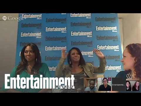 Real Housewives Of Atlanta' Stars Kandi Burruss And Kenya Moore Hangout | Entertainment Weekly