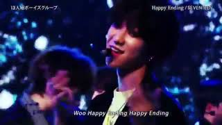 SEVENTEEN - HAPPY ENDING on Love Music Japan First Stage