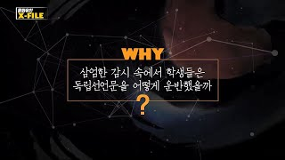 [문화유산X파일] 민족의 독립을 외치다, 대구 3.1만…