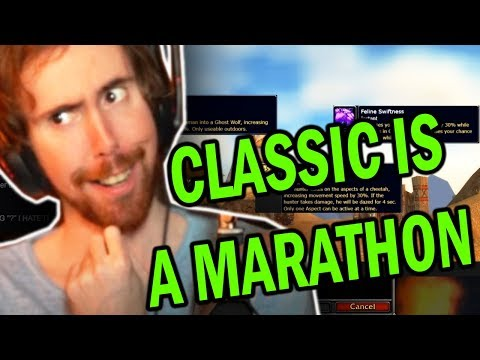 "Asmongold Reactions ""Classic WoW is a Marathon, Not a Sprint"" by Hamsterwheel"