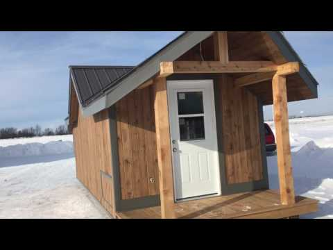 Fully Functioning Bunkie Cabin Delivered To You