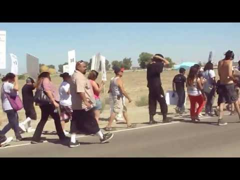 Solidarity March to Corcoran State Prison