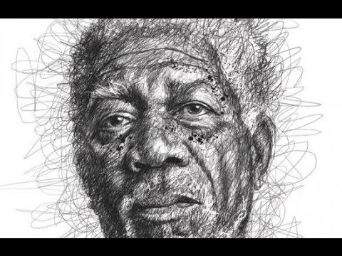 Scribble Pen Drawing : Feather pen drawings fine art america