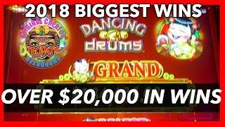 $20,000+ BIGGEST 2018 SLOT WINS & JACKPOTS | NorCal Slot Guy #callattendant