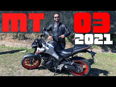 NOVA YAMAHA MT-03 2021/ Melhor do que antes?