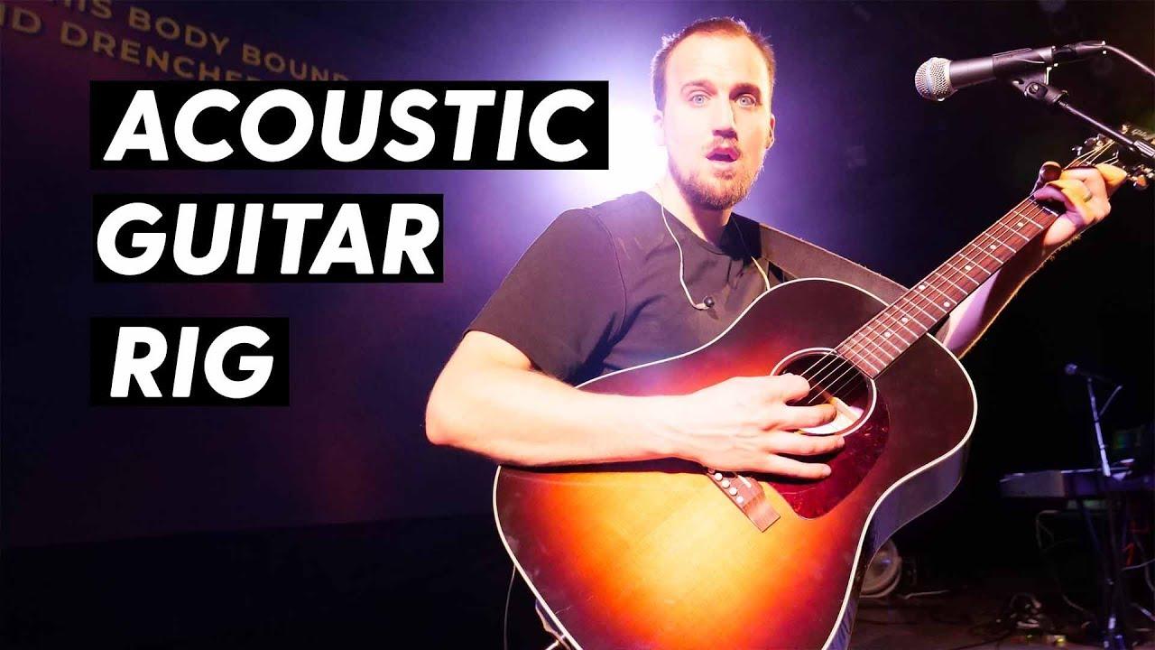Acoustic Guitar Setup for Worship Leaders