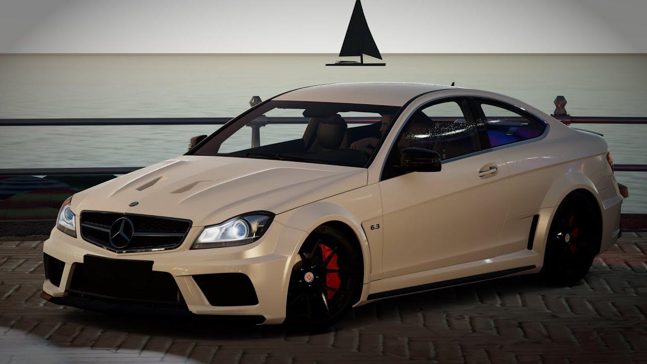 Forza Horizon 2  Custom Builds  2012 Mercedes C63 AMG Black