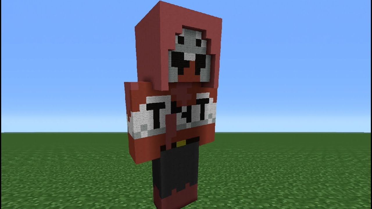 minecraft tutorial how to make an explodingtnt statue