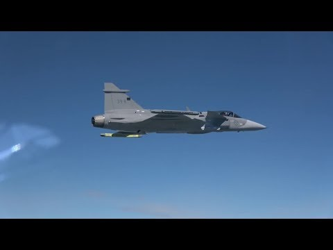 Saab - Gripen E/NG Multi-Role Fighter First Flight [1080p]