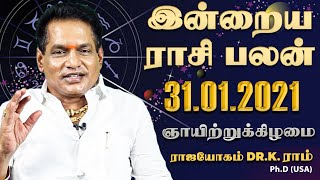 Raasi Palan 31-01-2021 Rajayogam Tv Tamil Horoscope