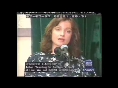Jennifer Harbury CIA in Guatemala - corruption, secrets and covert ops C SPAN 1997 AD