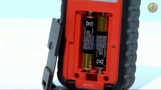 видео Дальномер, лазерная рулетка ADA Robot 40