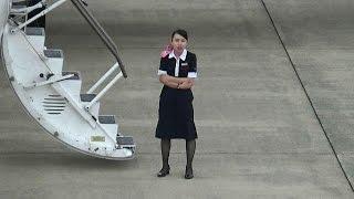 YAMAGATA AIRPORT 2016 山形空港 ダイバート機