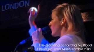 Ellie Goulding Performing My Blood - Jazz Cafe 05/10/12