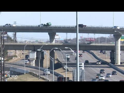 Construction starts on three new flyovers at I-35 and US 183